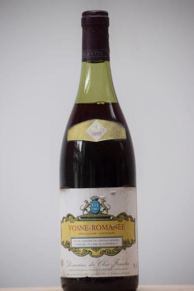 1977 Vosne Romanée Domaine de Clos Frantin (Albert Bichot)
