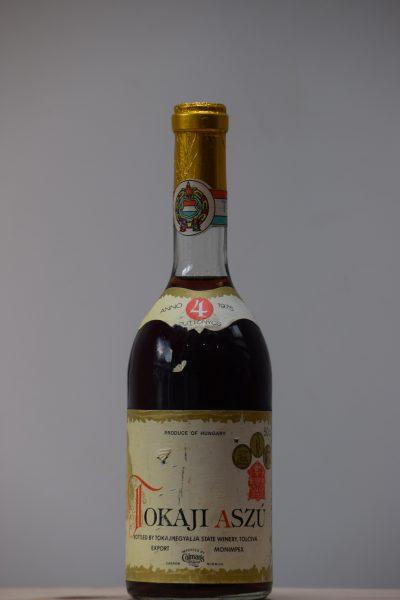 1975 Tokaji Aszu 4 Puttonyos (Tokajhegyalja State Winery)
