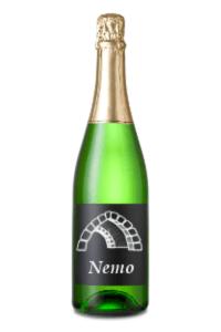 Nemo champagne bottle