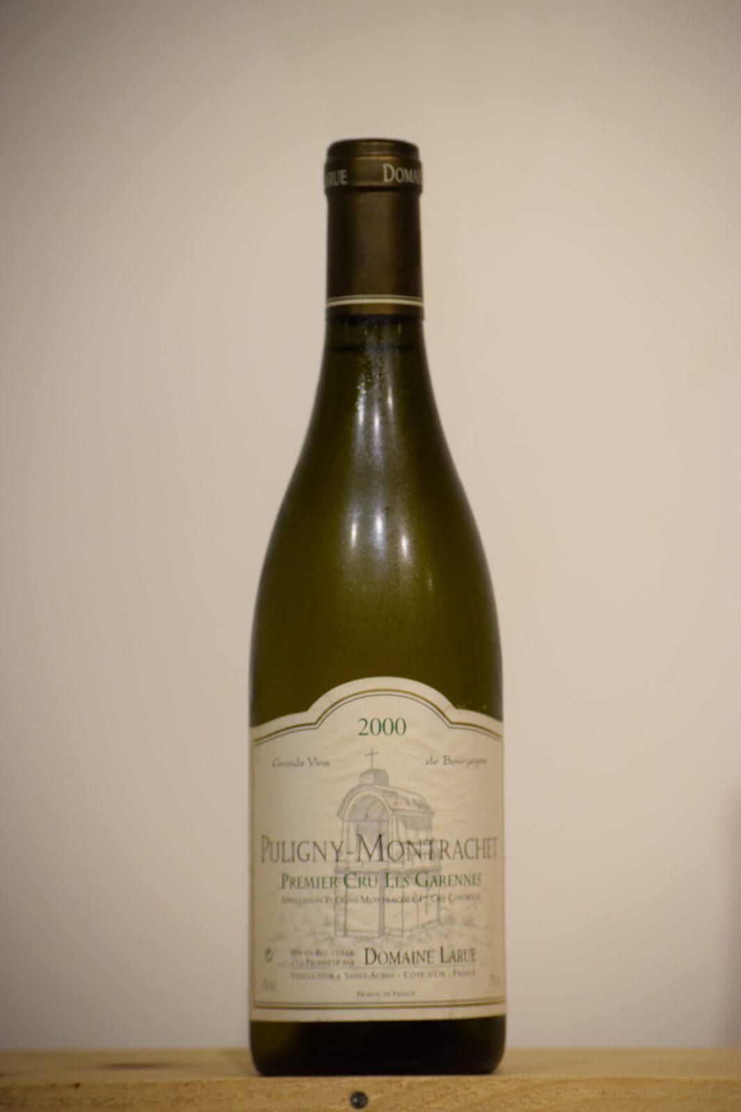 Larue Puligny-Montrachet Les Garennes 2000