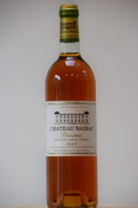 Nairac 1996. Sweet wine. Dessert wine. Sauternes
