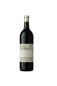 Ridge Vineyards Geyserville Zinfandel Blend