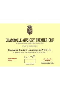 Domaine Comte Georges de Vogue Chambolle Musigny Premier Cru