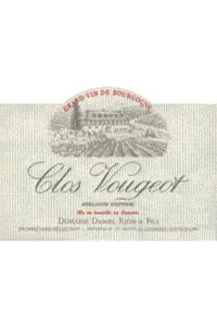 Domaine Daniel Rion Clos de Vougeot Grand Cru