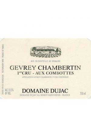 Domaine Dujac Gevrey Chambertin Aux Combottes Premier Cru