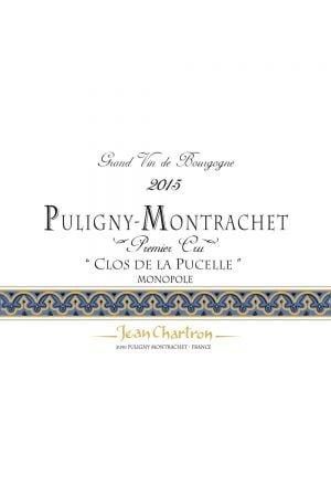 Domaine Jean Chartron Puligny-Montrachet Clos de la Pucelle Premier Cru
