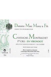 Domaine Marc Morey & Fils Chassagne Montrachet En Virondot Premier Cru