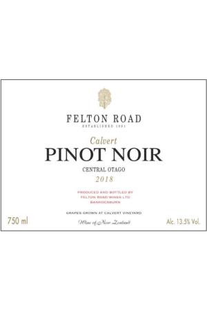 Felton Road Calvert Pinot Noir Bannockburn
