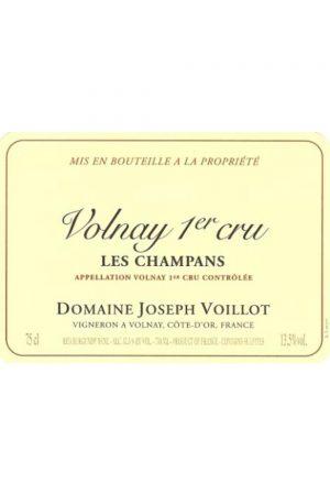 Joseph Voillot Volnay Les Champans Premier Cru
