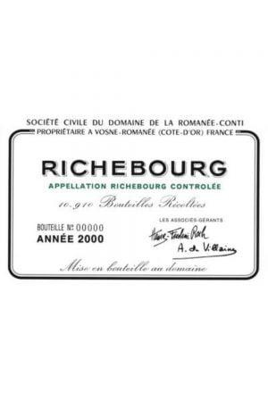 Domaine de la Romanee-Conti Richebourg Grand Cru
