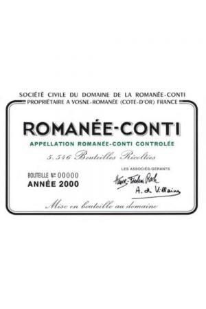 Domaine de la Romanee-Conti Romanee Conti Monopole Grand Cru